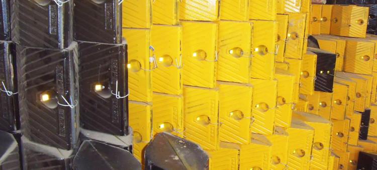 铸钢减速带铸钢减速带制造350x250x50